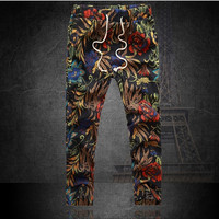 Plus size 4XL Autumn Fashion Men Pants Cargo Loose Harem Joggers Pants Hip Hop Dance Sports Trousers Men = 1958303172