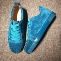 Christian Louboutin CL Low Style #2000 Sneakers Fashion Shoes Best Deal Online