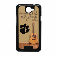Ed Sheeran Guitar And Song Quotes HTC One X Case