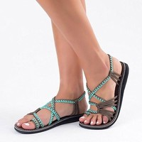 Womens Strappy Sandals