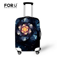 Travel Luggage Cover 3D Flower Travel Accessories Women's Luggage cover Girls Suitcase Set For 26''-30''inch Case
