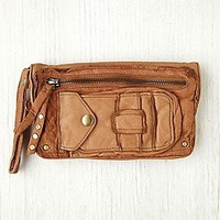 Distressed Leather Wallet at Free People Clothing Boutique