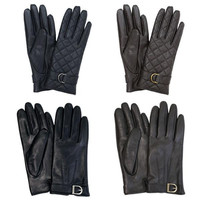 SheepSkin Winter Special Leather Style Women Gloves For Smartphone