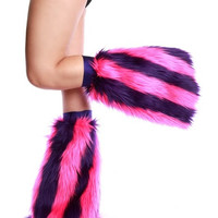 Pink and Purple Stripe Fluffies