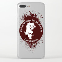 Lost Boys Clear iPhone Case by Fimbis