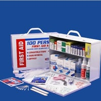 2 Shelf First Aid Cabinet