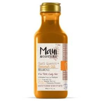 Maui Moisture Curl Quench + Coconut Oil Shampoo for Thick Curly Hair 13 oz : Target