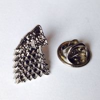 Game of Thrones Direwolf Pin Badge
