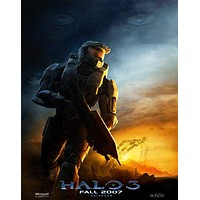 Halo 3 11x17 Movie Poster (2007)