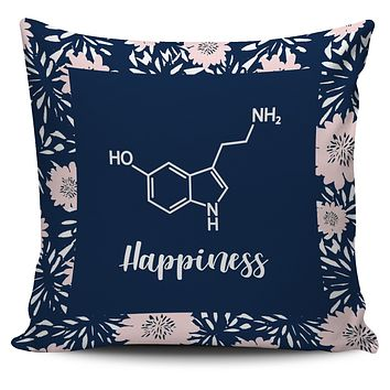 Floral Serotonin Pillow Cover
