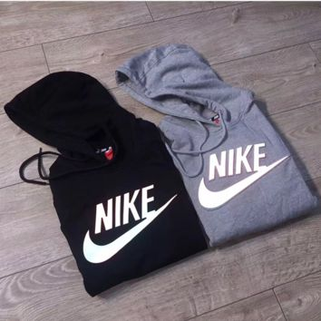 """3D Ray color """"NIKE"""" Women Fashion Hooded Top Pullover Sweater Sweatshirt Hoodie"""