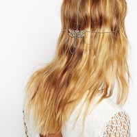 ASOS Dragonfly Filigree Back Hair Crown