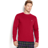 Polo Ralph Lauren Men'S Tipped Thermal Crew-Neck Shirt