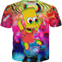 Trippy Bart Simpson T-Shirt