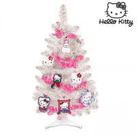 Hello Kitty Christmas Tree with Decorations