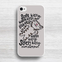 Cute Cat Soft Kitty Song case iPhone 4s 5s 5c 6s 6 Plus Cases, Samsung Case, iPod 4 5 6 case, HTC case, Sony Xperia case, LG case, Nexus case, iPad case