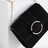 Ring leather bag - Women | Mango USA