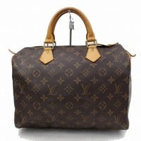 Authentic Louis Vuitton Hand Bag Speedy 30 M41526 Brown Monogram 180219
