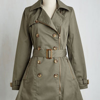 Throw a Trench in Things Coat | Mod Retro Vintage Coats | ModCloth.com