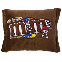 M&M's Milk Chocolate Big Plush Candy Pillow