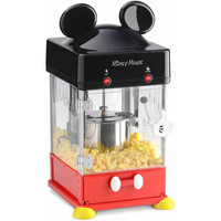 Walmart: Disney Mickey Kettle Style Popcorn Popper, Black/Red