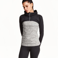 Hooded Running Top - from H&M