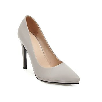 Women Pumps Platform High Heels Stiletto Heel for Women 3370