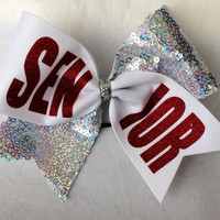Cheer Bow - Senior (You Choose All Colors!!)
