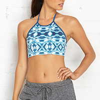 FOREVER 21 Low Impact - Hot Yoga Halter Sports Bra
