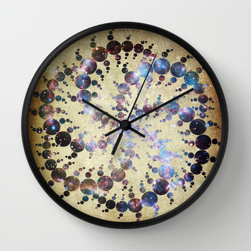 The 409 Circles Wall Clock by Jenndalyn