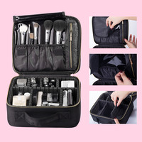Professional Travel Makeup Bag Organizer