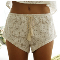 Lost in Alila Luxe Shorts