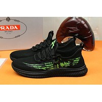 prada men fashion boots fashionable casual leather breathable sneakers running shoes 89