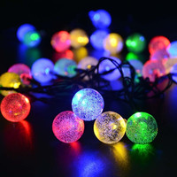 5M28Bubble Ball Led String Lights Linkable Ball holiday String Light for Home Decoration/Wedding/Birthday/Holiday/Chrismas Party