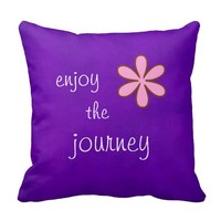 Inspirational Words Pillow