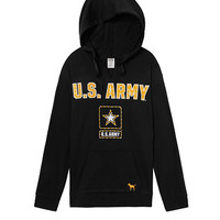 Army Bling Campus Split Neck Pullover - PINK - Victoria's Secret