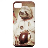 Astronaut Sloth iPhone 5 Cover from Zazzle.com