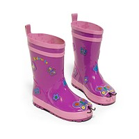 Kidorable Butterfly Rain Boots