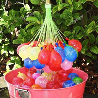 Tiny®111 x Magic Summer Cool Water Fight Balloons 3 x Balloon Bunches Toys for Children Kids Outdoor Play = 1946236228