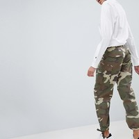 ASOS Cargo Pants in Camo at asos.com