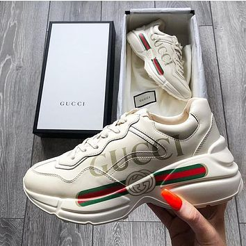 GUCCI 2021 Fashionable leisure shoes