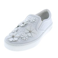 Dior Christian Womens Happy Leather Embellished Casual Shoes