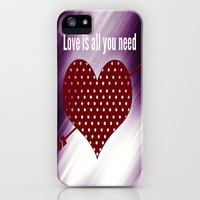 Love  iPhone & iPod Case by Laura Santeler