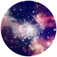 Star Dust Circle Wall Decal