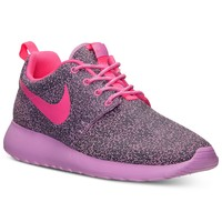 Nike Women's Roshe Run Print Casual Sneakers from Finish Line