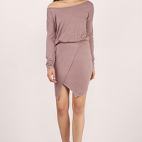 Easy Does It Off Shoulder Dress $58