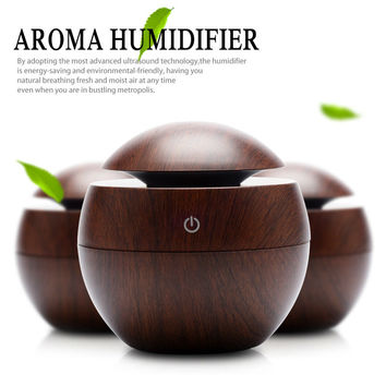 Mini Ultrasonic Humidifier USB Portable Color Changing LED Aroma Diffuser Air Purifier Mist Maker