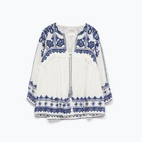 EMBROIDERED JACKET New