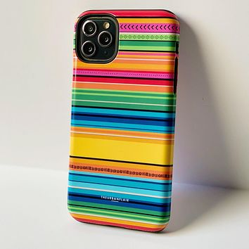 Rainbow Serape Tough Phone Case
