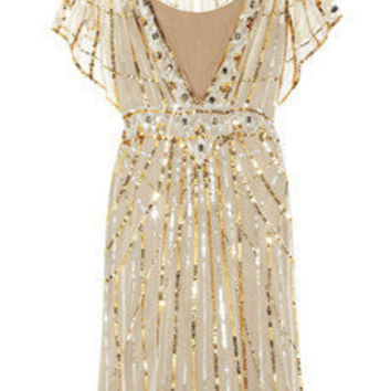 Temperley London | Web sequined tulle dress | NET-A-PORTER.COM